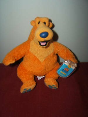 Rare Bear In The Big Blue House Beanie 7 Inch By Mattel