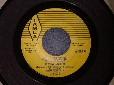 The Miracles-Shop Around-60's-Motown 45
