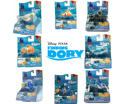 Finding Dory Swigglefish Nemo Marlin Hank Bailey Destiny Mr Ray Disney Fish