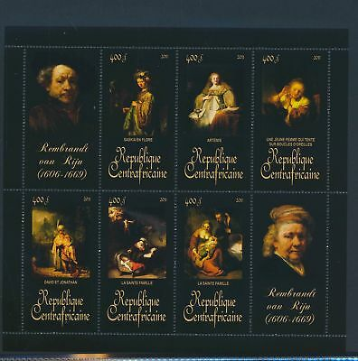 XA82103 Central Africa 2011 Rembrandt van Rijn art paintings XXL MNH
