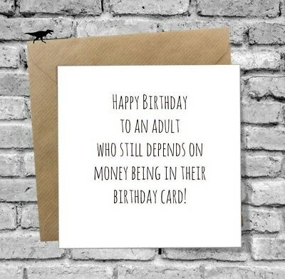 FUNNY 30TH BIRTHDAY Card Brother Sister Friend Son Daughter