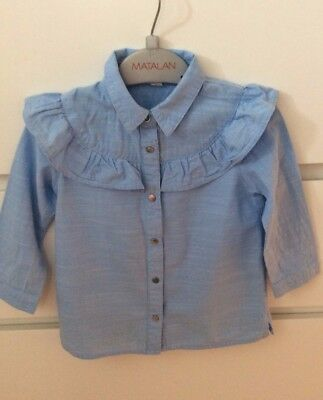 River Island Mini Beautful denim blouse 12 -18 months and Zara jeans 12-18 month