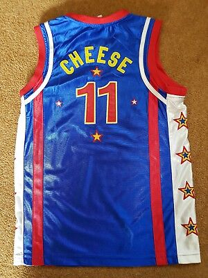 childrens harlem globe trotters vest small -cheese