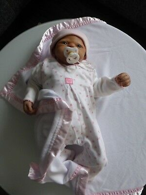 Reborn Baby Puppe Emily by Linda Webb