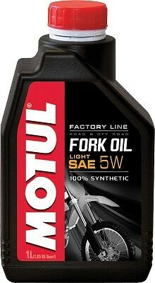 MOTUL SYNTHETIC FORK OIL 5W LITER,105924 Factory Line