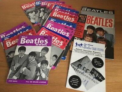 Original Beatles Monthly issues 1 - 21 from 1963 to 1965