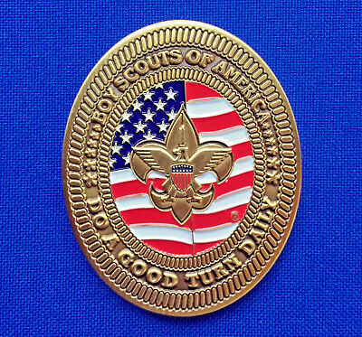 Boy Scouts of America First Class Scout Rank BSA Scouting Badge Challenge Coin