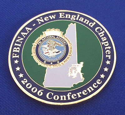 FBI National Academy New England Chapter '06 NH Conference FBINAA Challenge Coin