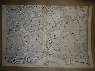 London West India dock,BowCommon Map 1863 Dispatch Atlas E.Weller Framed 40 more