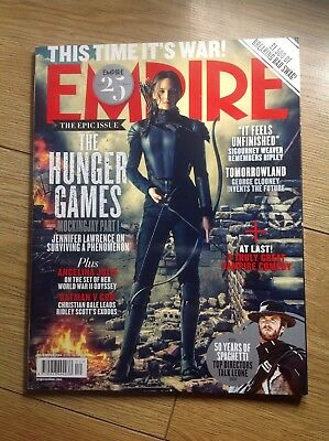 EMPIRE FILM MAGAZINE No 306 DECEMBER 2014 THE HUNGER GAMES - MOCKINGJAY PART 1