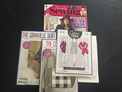 Simply Sewing Magazine Issue 25 With All Free Gifts