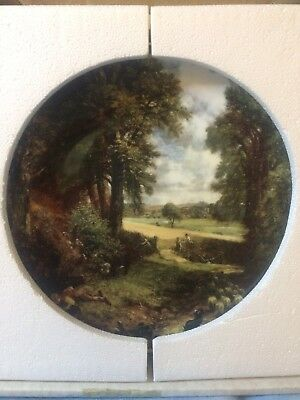 Royal Doulton Constable collector's plate - The Cornfield (boxed)