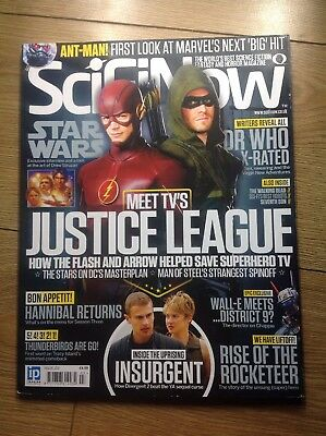 SciFi Now issue 103 Star Wars Ant-Man Justice League Insurgent Thunderbirds