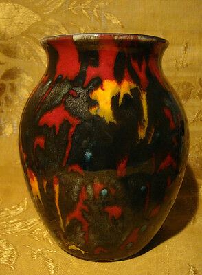 Contemporary Poole Pottery Vase Luster Glaze 6 1/2""