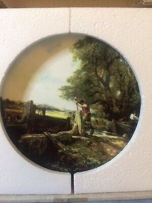 Royal Doulton Constable collector's plate - The Lock (boxed)