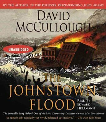 The Johnstown Flood by David McCullough 9780743540865 (CD-Audio, 2005)