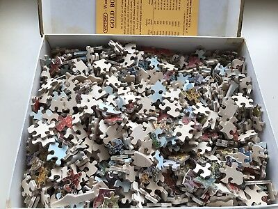 Vintage Victory gold box jigsaw puzzle 800 pieces Compleet