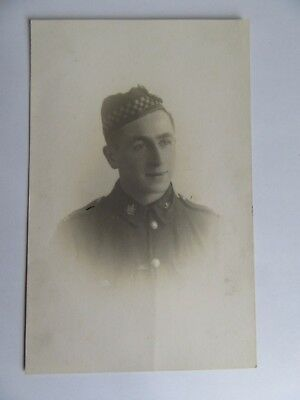 WW1 military postcard - CANADIAN SCOTTISH . A.J.WILSON.