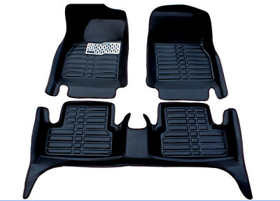 2008-2013 For Toyota Highlander Car Floor Mats Liner Front & Rear carpet Mat