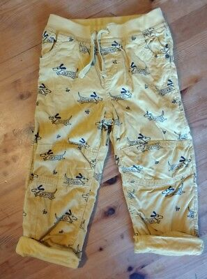 boys john lewis soft cord trousers size 18 to 24