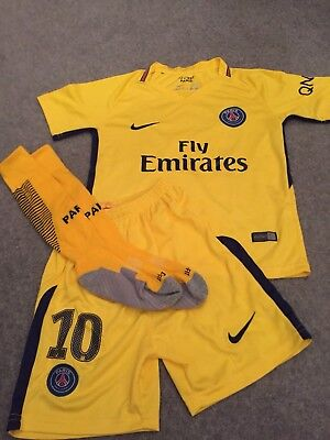 PSG Current Season 3rd Kit - Neymar Jnr, 10 - Age 7-8