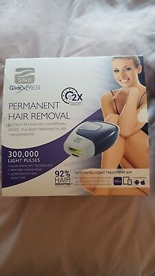 Silk n Glide XPress Permanent Hair Removal Light Pulse Device 300,000 pulses