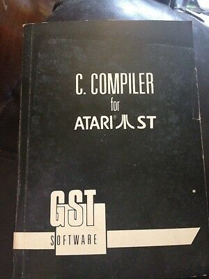 G.S.T C. Compiler MANUAL only For Atari ST