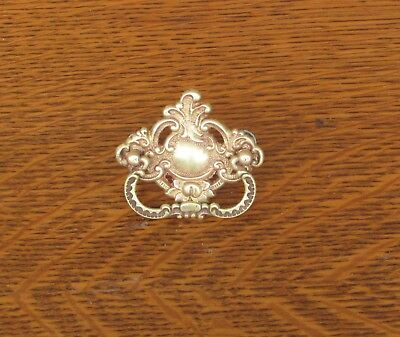 Antique Ornate Brass Singer 15 27 Sewing Machine Drawer Pull Handle 1900 1908