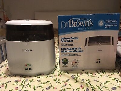 Used Dr Brown's Natural Flow Deluxe Bottle Sterilizer!! Ac045