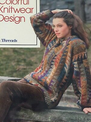 Colorful Knitwear Design From Threads