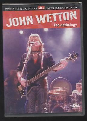 NEUF DVD JOHN WETTON THE ANTHOLOGY SOUS BLISTER musique ROCK ASIA bassiste