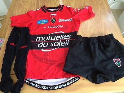 Toulon Rugby Boys Rugby kit