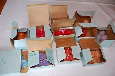 Lot Of 37 Partylite Tea Light Votive Aroma Melts Candles Mixed Scents Retired
