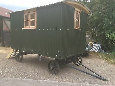 Shepherds Hut. Built To Traditional Design. Insulated,BuiltInBed. Ready Feb