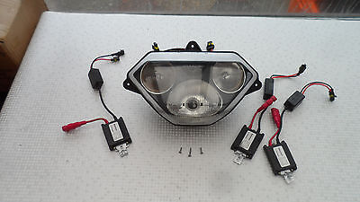 Aprilia Rsv Mille R Headlight Assembly Hid Upgrade And Bolts Harness Rsv 1000