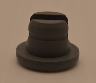 20mm 1000  Butyl Rubber Slotted Stoppers Serum Injection vials Gray Wheaton $280