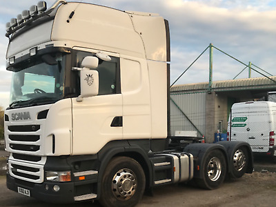 Scania 6 x 2 tag axle,  top line 2010