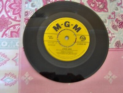 "CONNIE FRANCIS - Stupid Cupid 45 Record 7"" single"