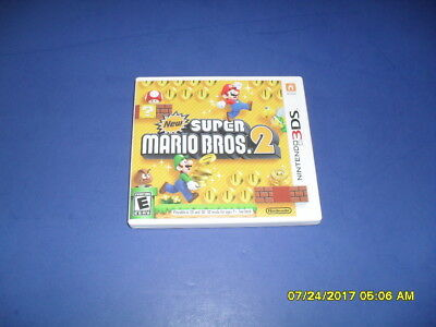 New Super Mario Bros. 2 (Nintendo 3DS, 2012) Complete - FREE SHIPPING!