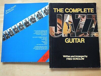 The Complete Jazz Guitar (1980) & Mickey Bakers Jazz Guitar (1973) Books ...