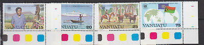 Vanuatu 1983 Commonwealth Day set um-mint