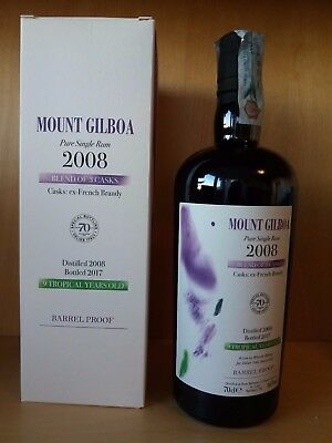 Rum Rhum Velier Mount Gilboa 2008 Barbados 66% Mount Gay