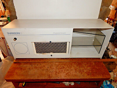 Shandon Lipshaw Hyperclean Hood Model 9990649 with Plexi Cover