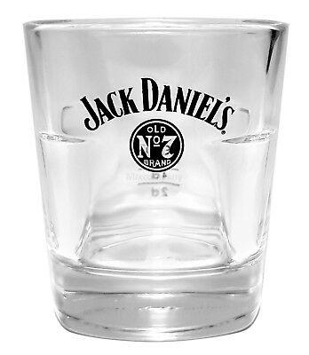Jack Daniels Old No7 Whiskey Tumbler Glas 2/4cl geeicht