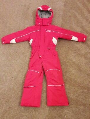 Trespass childrens girls ski snow board suit. Age 3-4 (height 98-104cm)