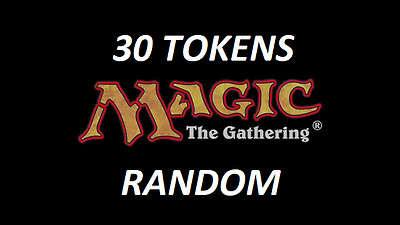 30 token cards Magic the Gathering
