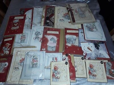 Wholesale Job Lot Approx 100 Me To You Tatty Teddy Christmas Cards Rrp £250++  A