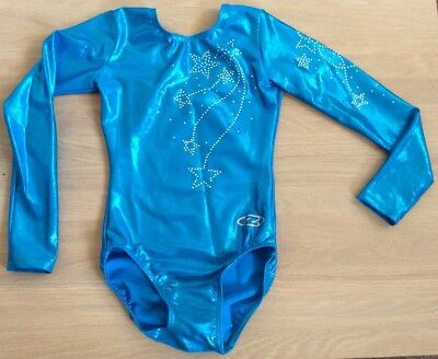 Lovely Girls Zone Long Sleeved Leotard Size 30 Age 8/9/10 (CL)
