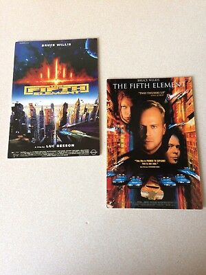The Fifth Element Movie Postcards