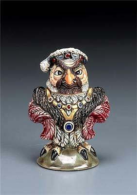 Burslem Pottery Grotesque Bird King Henry Inspired By Martin Brothers